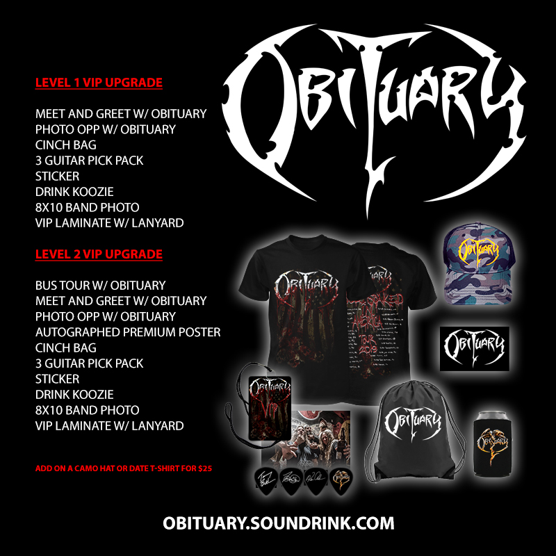 North American Tour 2019 - VIP PAckages