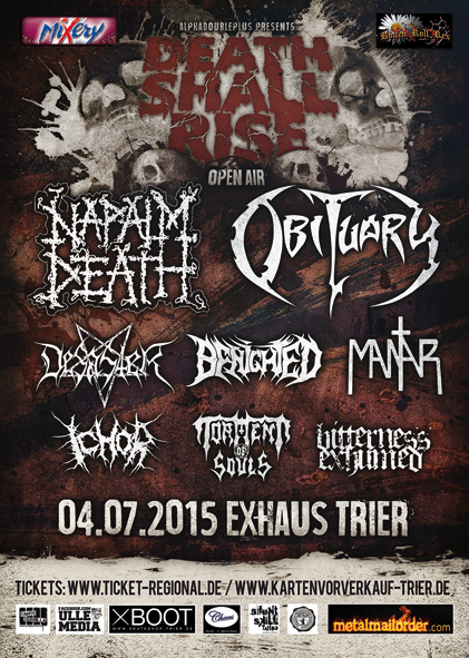 Death Shall Rise Festival 2015