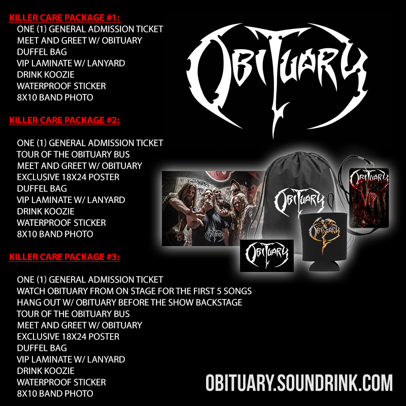 Obituary cc | The Official Website of Obituary