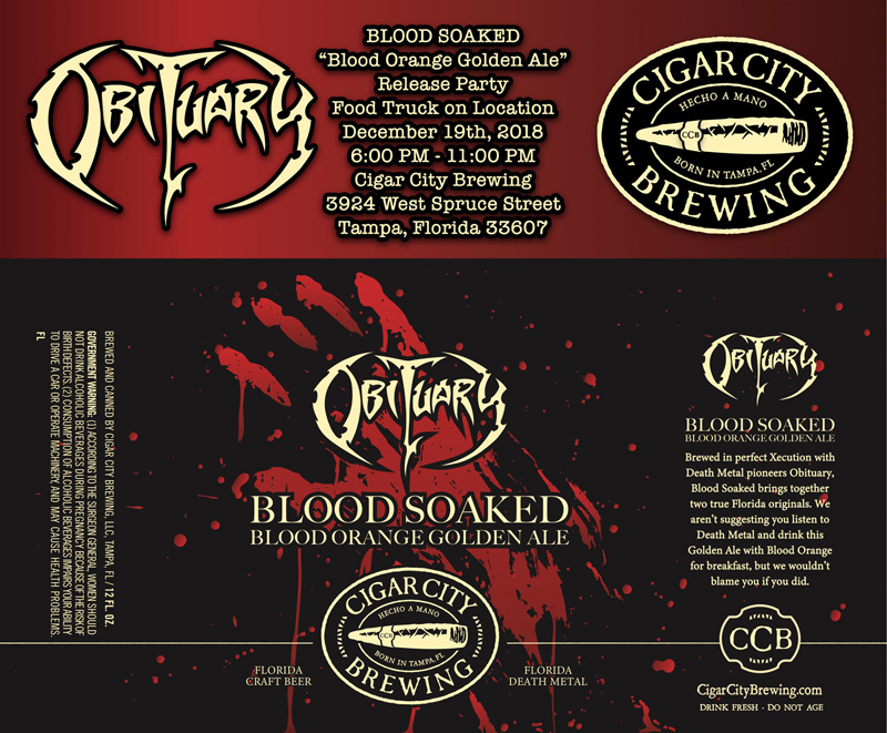 Blood Soaked Release Party!!!