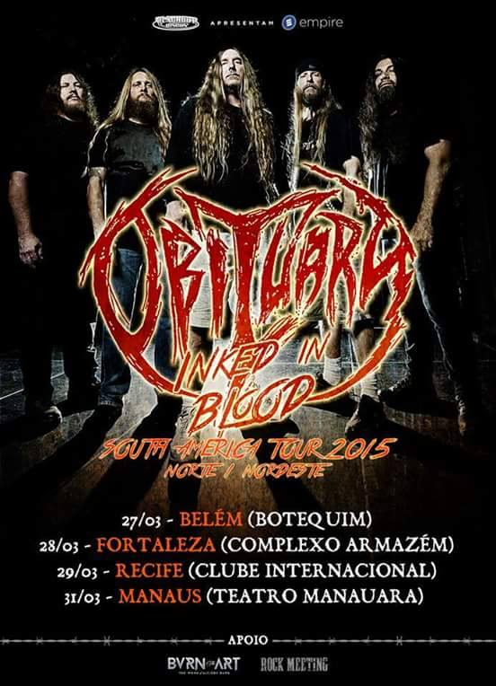 Inked in Blood - Brazilian Tour 2015