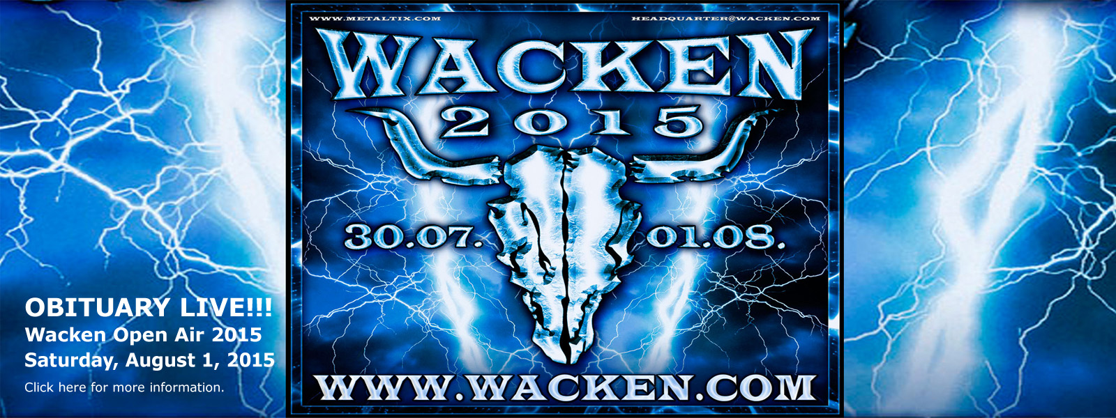 Wacken Open Air 2015 - Wacken, Germany