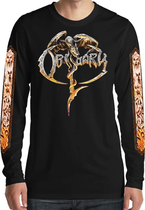 Obituary Album 2017 Long Sleeve Shirt