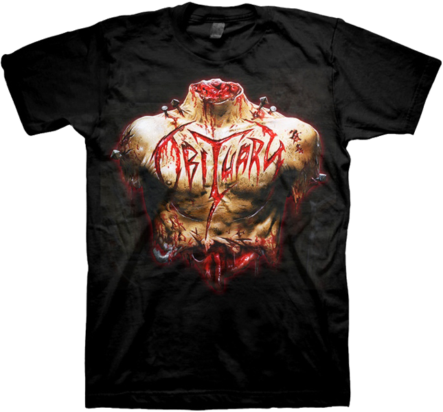 Inked In Blood European Tour Shirt